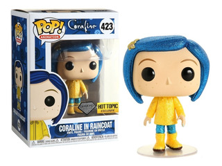 Coraline In Raincoat Diamond Exclusive Funko Pop