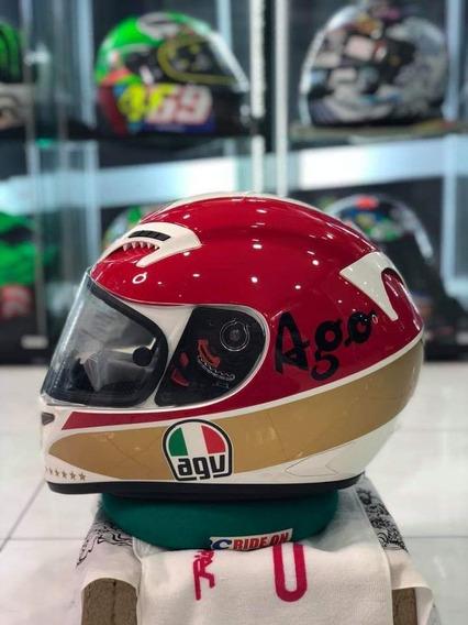 Capacete Agv Grid Giacomo Agostini Tricomposto