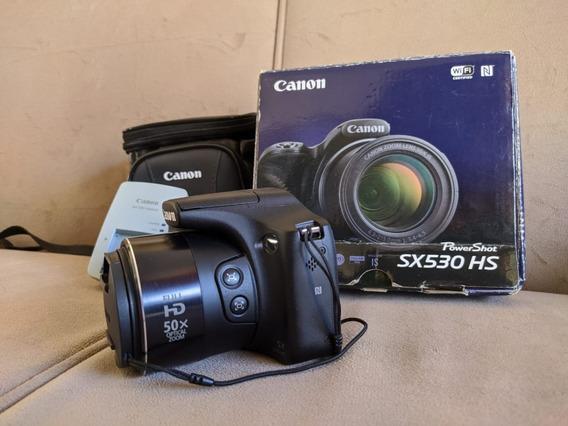 Canon Sx530hs (em Excelente Estado Com 5500 Clicks)