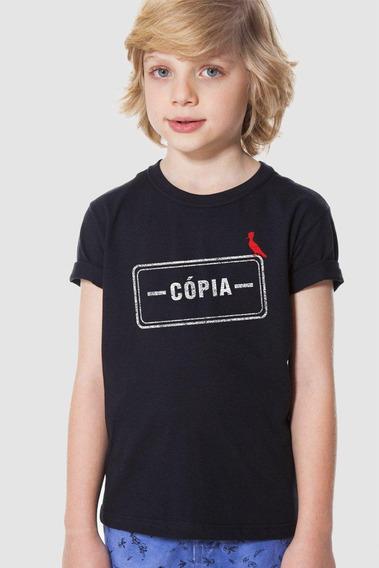 Camiseta Carimbo Cópia Reserva Mini Reserva Mini