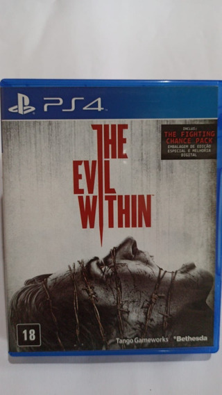 The Evil Within Midia Fisica Ps4
