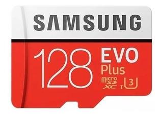 Samsung Cartão Micro Sd Evo Plus+ 128gb 100mb/s U3 4k