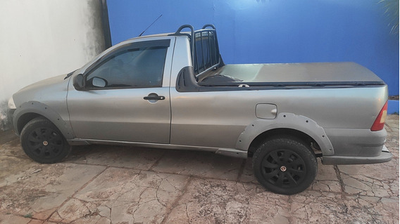 Fiat Strada Working Cs 1.4 - Cinza, 73mil Km