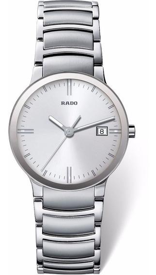 Reloj Rado Centrix R30927103 Plateado Original Para Caballero
