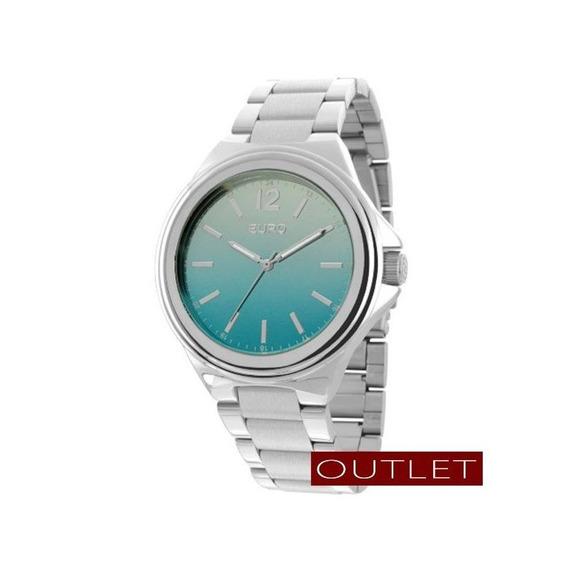 Relógio Euro Feminino Prata Eu2035yag/3v