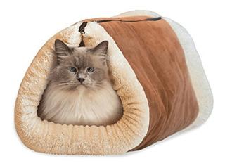 Snooze® Cama Acolchada Cómoda 2 En 1 Gatos /tienda Pharmavet
