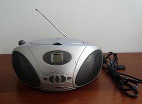 Radio Reproductor Cd Mp3 Usado Con Detalles Leer Descrip