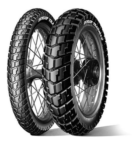 Juego Cubiertas Dunlop Trailmax 90 90 21 130 80 17 Nx Falcon
