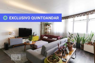 Apartamento No 4º Andar Com 3 Dormitórios E 2 Garagens - Id: 892896237 - 196237