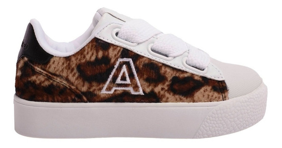 Zapatillas Addnice Velvet Leopardo Envios Caba Y Bs As