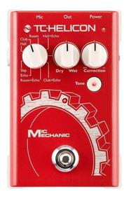 Pedal De Voz Tc-helicon Mic Mechanic Reverb/delay + Nf!