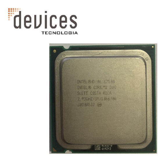 Intel Core 2 Duo E7500 Slgte 2.93ghz Para Desktop