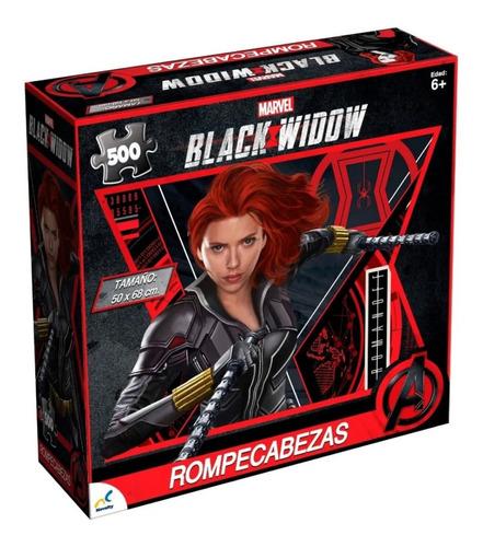 Rompecabezas Black Widow Marvel 500 Piezas