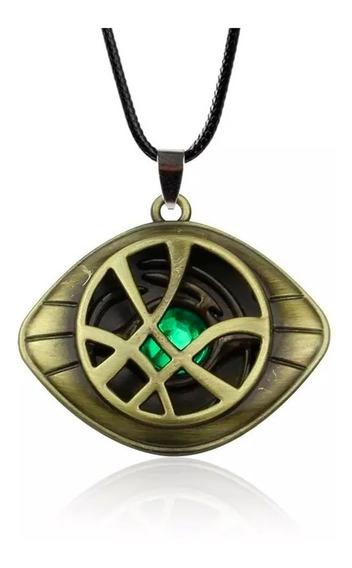 Doctor Strange Collar Envio Gratis Ojo De Agamotto Marvel Dr