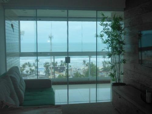 Apartamento Com 3 Dormitórios À Venda, 97 M² - Praia Da Enseada - Guarujá/sp - Ap10988