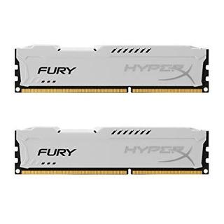 Memoria Ram Ddr3 2x2 4gb Hyperx Fury Whit
