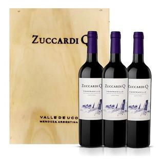 Vino Zuccardi Q Tempranillo 750ml C14 X3 Unid.
