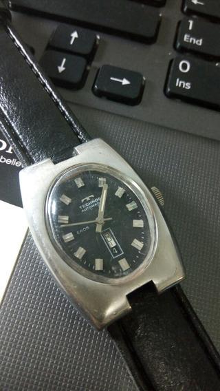 Raríssimo Relógio Technos Eros Automatic Swiss 28/36mm