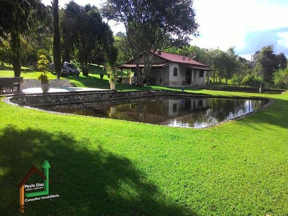 Chácara Muito Bem Localizada, Ideal Para Quem Busca Tranqüilidade Na Região Do Circuito Das Águas. - Ch0022