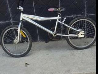 Bicicleta Cromada
