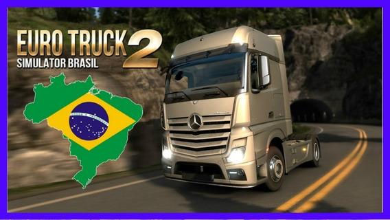 Euro Truck Simulator 2 +70 Dlcs +mapa Brasileiro Exclusivo