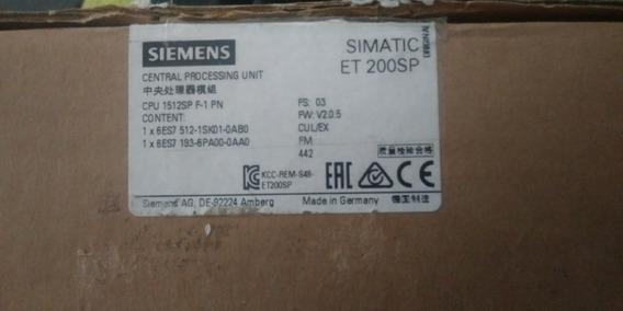 Plc Siemens Cpu 1512sp F-1 Pn
