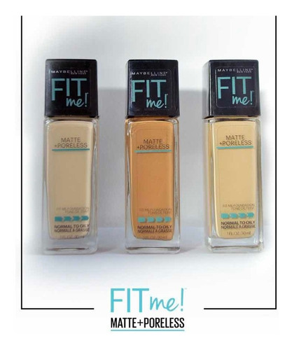 Fit Me® Matte + Poreless Foundation Maybelline Original
