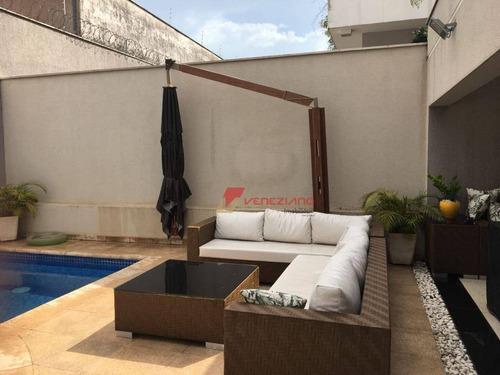Casa À Venda, 290 M² Por R$ 1.650.000,00 - Loteamento Residencial Reserva Do Engenho - Piracicaba/sp - Ca0795