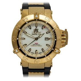 Relógio Invicta 0738 Subaqua Noma 3 Preto 100% Original