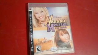 Game Hannah Montana - The Movie - Ps3/ Blu-ray
