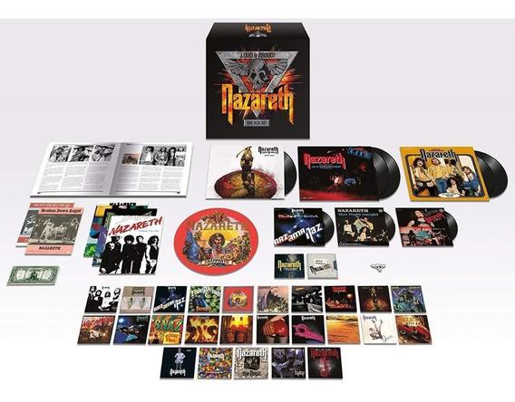Box Nazareth - Loud & Proud! (32 Cds + 6 Lps + Compactos Etc