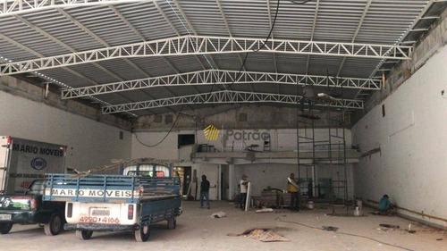 Imagem 1 de 4 de Salão Para Alugar, 600 M² Por R$ 50.000,00/mês - Centro - Santo André/sp - Sl0127