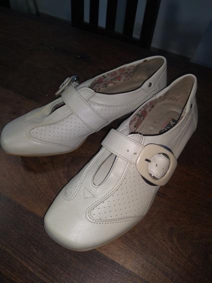 Zapato Cuero Dama