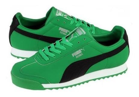 Zapatillas Puma Roma Green Black - A Pedido_exkarg