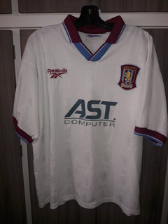 Camisa Do Aston Villa 1995 / 1996 (umbro) Tamanho G