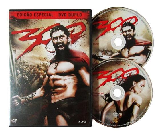 Dvd Duplo Filme 300 Edição Especial
