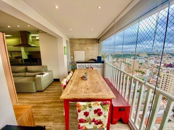 Apartamento 95m², Varanda Gourmet, Vista Panorâmica 03 Suítes, 02 Vagas E Depósito - Bi27713