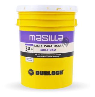 Masilla Placas De Yeso Durlock Multiuso X 32kg Lista Para Usar - Prestigio