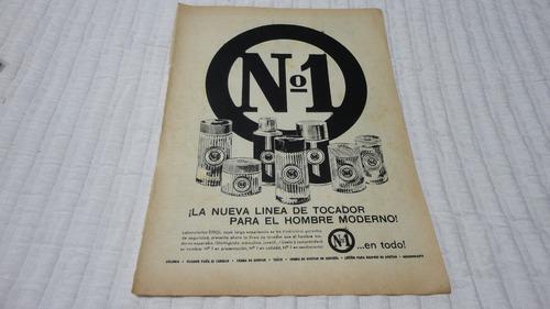 Clipping Publicidad  Antigua Laboratorios Odol Fragancia N 1