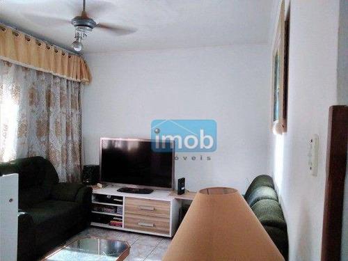 Imagem 1 de 16 de Apartamento Com 1 Dormitório À Venda, 45 M² Por R$ 235.000,00 - Embaré - Santos/sp - Ap8029