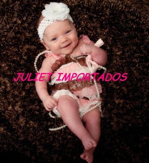 Cod 327 - Macaquinho Tutu Infantil Bebê Importado 6 - 9 Mese