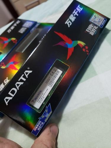 Imagem 1 de 2 de Memoria Ram Ddr4 8gb, Adata, 2666 Mhz Dual Channel
