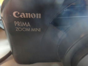 Antiga Máquina Fotográfica Canon Prima Zoom Mini.