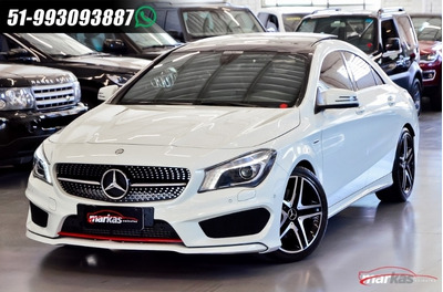 Mercedes Cla250 4m 211hp Teto Rodas 20 Amg 65 Mil Km,