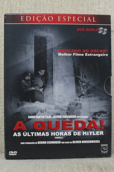 Dvd Duplo A Queda! As Últimas Horas De Hitler Edição Especia