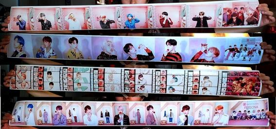 Set 4 Posters Banner Bts Map Of The Soul : Persona 1.13 Mts
