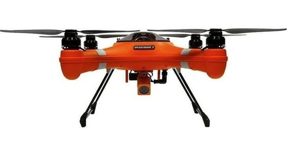 Splash Drone3 Fisherman Swellpro,provadágua Controle/malet