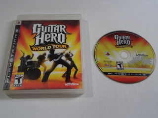 Guitar Hero World Tour Ps3 Original