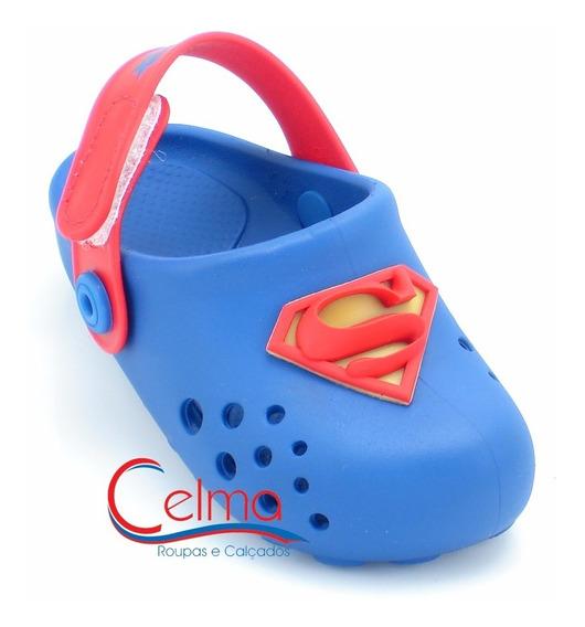 21678 Babuch Liga Da Justiça Super Homem Estilo Crocs
