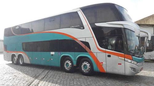 Imagem 1 de 15 de Marcopolo Dd Scania K400, Ano 2014,8x2, 53l Compl R$ 69